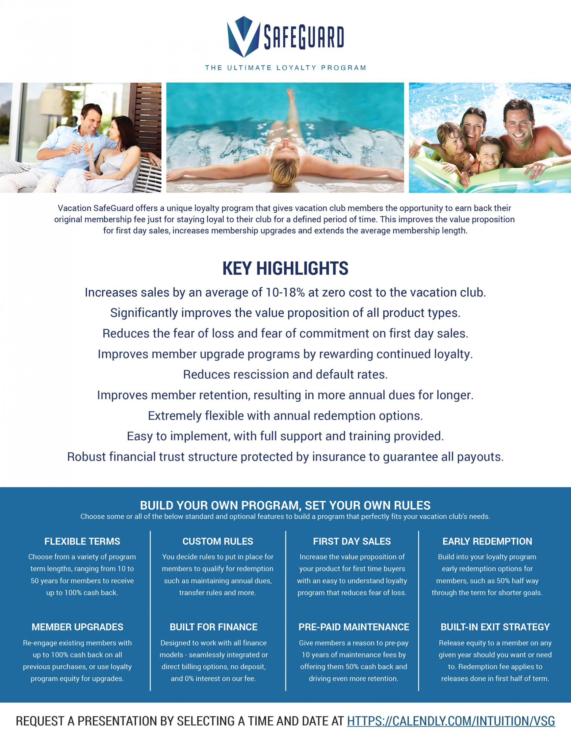 Vacation SafeGuard Highlights